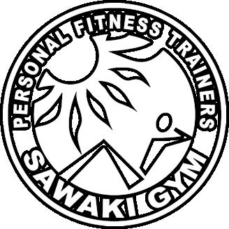沖縄北谷 パーソナルトレーニングジム・スポーツジム SAWAKI GYM (サワキジム)ロゴ