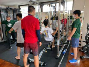 グループトレーニング風景07