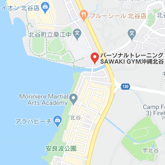 SAWAKIGYM沖縄北谷map