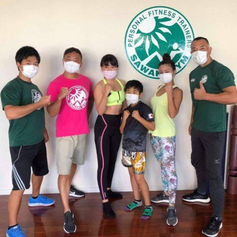 SORA沖縄学園★グループトレーニングの模様