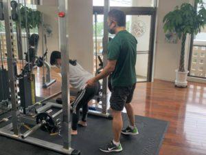 【沖縄北谷】2020年12月のパーソナルトレーニング風景08