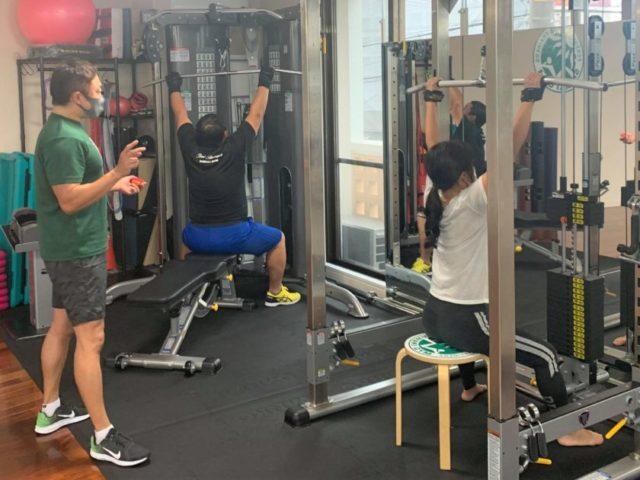 【沖縄北谷】2020年12月のパーソナルトレーニング風景09
