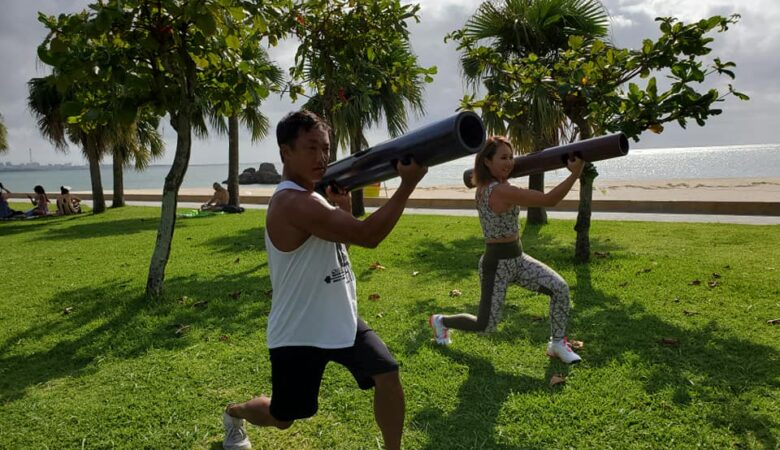 【Maiさん】ビーチでパーソナルトレーニング!!04